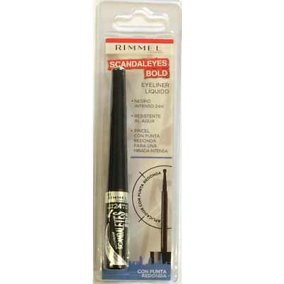 Rimmel Scandaleyes Bold Liquid Eyeliner Up To 24Hrs Black 2.5Ml