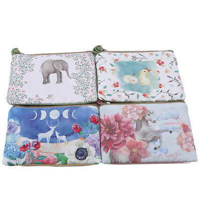 Animal Printed Women Multi function Travel Cosmetic Bag Makeup Pouch Case Z
