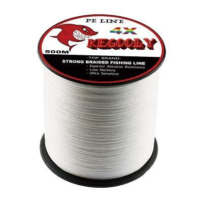 KEGOOLY Super Power Braided Fishing Line, Abrasion Resistant PE Line.