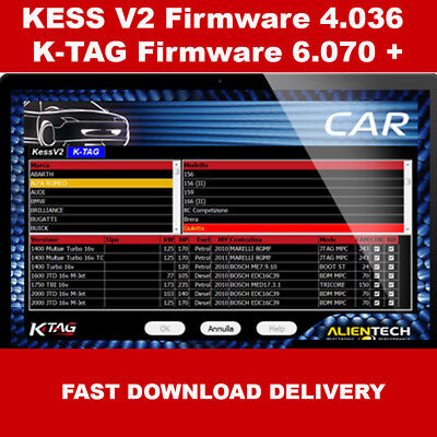 KESS V2 + K-TAG allows you to read and write ECUs of cars, motorcycles, trucks,