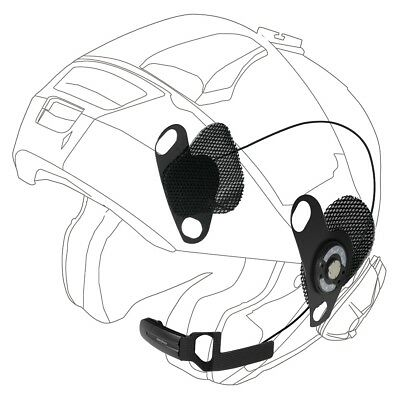 Kit Per Interfono Casco Shoei Neotec Gt Air J Cruise Interphone F3 F4 F5 Xt Mc
