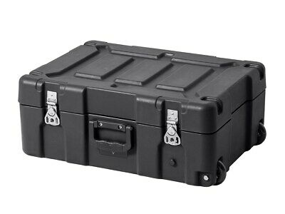 Monoprice Rotomodeled Weatherproof Case 21 x 14 x 8 inches With Foam & Wheels
