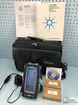 N2620A-6 Agilent Dell Framescope Pro Handheld Gig-E Network Performance Analyzer