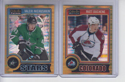 14/15 OPC Platinum Colorado Avalanche Matt Duchene Seismic Gold #78 Ltd #33/50