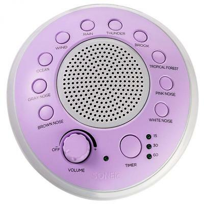 SONEic - Sleep, Relax and Focus Sound Machine. 10 Soothing White Noise...