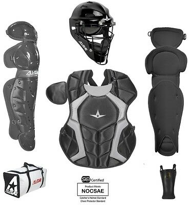 All-Star CKCC1216PS Player Series Black Int. Catchers Set Typically Fits 12-16