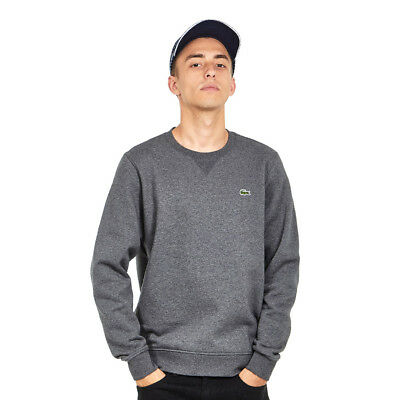 Lacoste - Brushed Fleece Sweater Pitch Pullover Rundhals