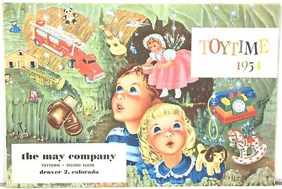 Toytime 1954 – Toy Catalog from The May Company of Denver Colorado