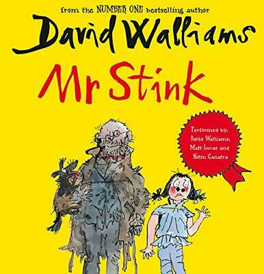 Mr Stink by Walliams, David CD-Audio Book The Cheap Fast Free Post