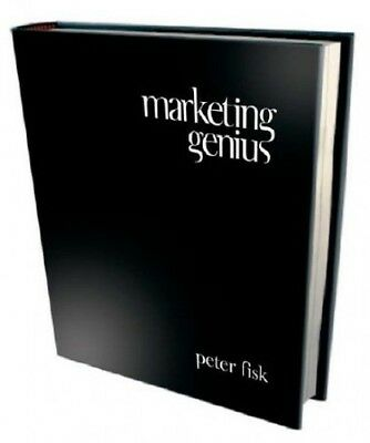 Marketing Genius by Peter Fisk Hardback Book The Cheap Fast Free Post