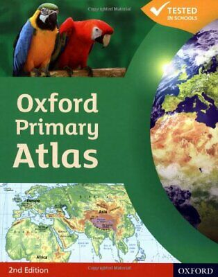 OXFORD PRIMARY ATLAS NEW ED by Watts, Franklin Hardback Book The Cheap Fast Free