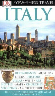 DK Eyewitness Travel Guide: Italy by Collectif Hardback Book The Cheap Fast Free