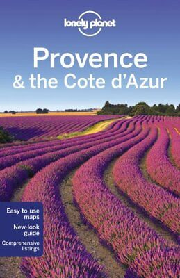 Lonely Planet Provence & the Cote d'Azur (Travel Guide) by Vlahides, John A The