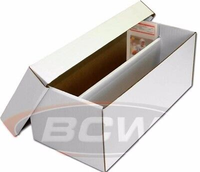 BCW Graded Shoebox Card Cardboard Storage Box for Graded Cards