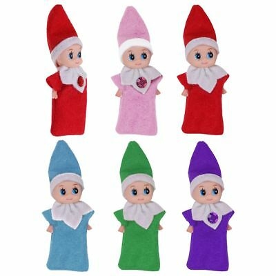 2018 Christmas elf Plush Dolls Figure Christmas Novelty Toy Xmas Gift