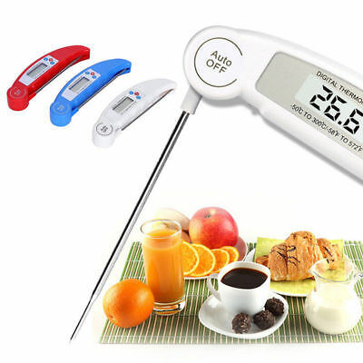Food Thermometer Probe Temperature Kitchen Cooking Dining Stainless Steel Tester