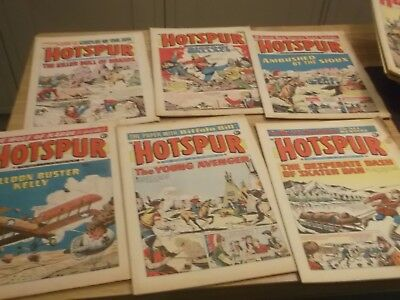 14 The Hotspur Comics From 1970 Onwards All Listed