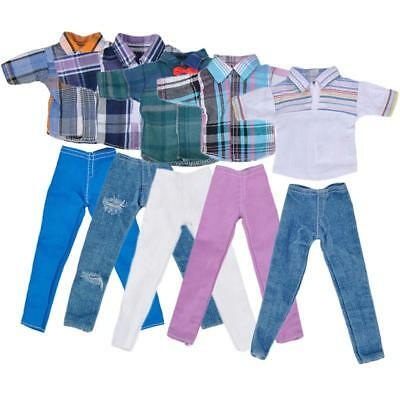 """Handmade T-shirt And Pants Clothes Outfit for 11"""" Barbie Boyfriend Ken Doll New"""