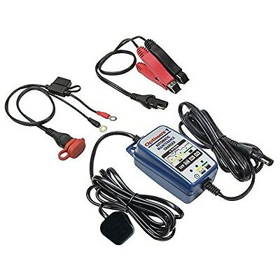 Optimate 1+12v 4 Step Automatic Battery Charger Maintainer including lithium
