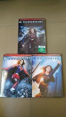 Supergirl The Complete Series Season 1 2 3 (DVD 2018, 15-Disc Box Set) 123 US se