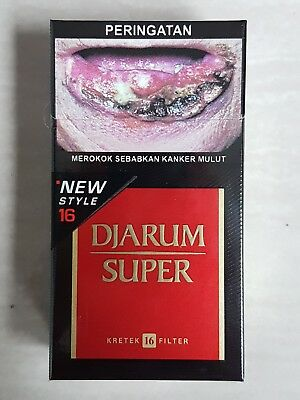 DJARUM SUPER 16 NEW STYLE Collectible 10 Packs 10x16 **8 Days-Fast Delivery**
