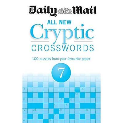 Daily Mail All New Cryptic Crosswords 7 (The Daily Mail - Paperback NEW Daily Ma