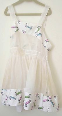 Exquisite Vintage Girls Sundress With Candy Motif Ss887