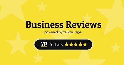 Yellowpages Reviews YP.com 1 x Real 5 Star Business, Positive Reviews