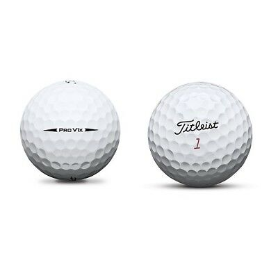 2 Dozen Titleist Pro V1X 2018 Near Mint / AAAA Used Golf Balls Latest Model