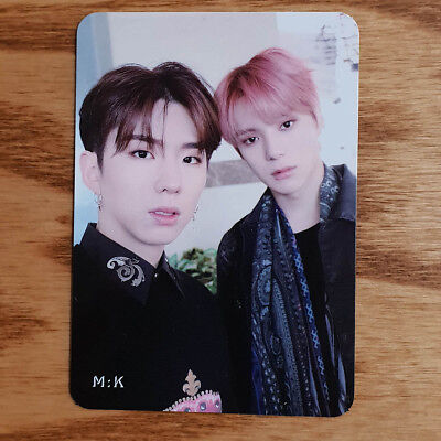M:K Unit Official Photocard Monsta X 2nd Album Take.1 Are You There? Kpop