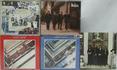 5 x CD Sammlung The Beatles Anthology 1 Blue Red Album Live at the BBC usw