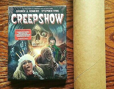 Creepshow Blu-ray NEW Sealed Collectors Edition Limited LITHOGRAPH POSTER Scream