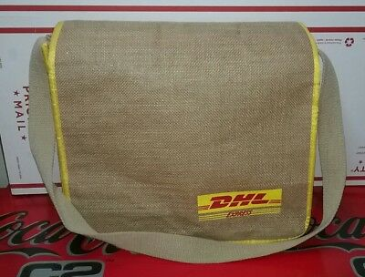 DHL Canvas Express Bag with Shoulder Strap  (F5B1)