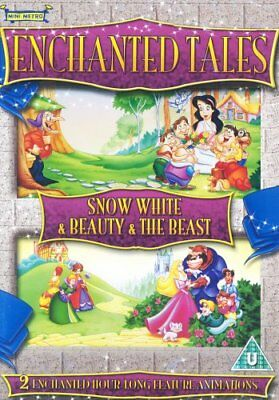 Enchanted Tales - Snow White / Beauty And The Beast [DVD] -  CD 9MVG The Fast