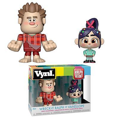 Funko Vynl. Ralph Breaks the Internet: Wreck-it Ralph + Vanellope Collectibles