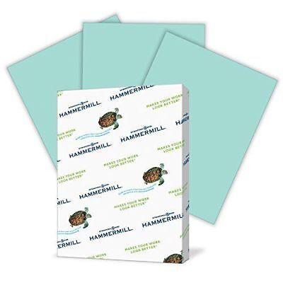 Hammermill Paper, Colors Turquoise, 20lb, 8.5x11, Letter, 500 Sheets