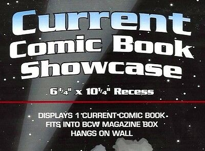 BCW Current Comic Showcase Display Case  Wall Mount Frame
