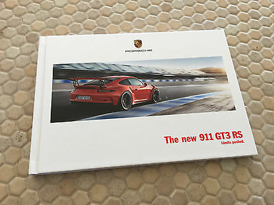 Porsche Official 991 911 Gt3 Rs Hardback Prestige Brochure 2015 Usa Edition New
