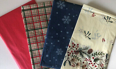 Christmas Festive Large Table Cloth Cover Xmas Party Home Decoration,runner