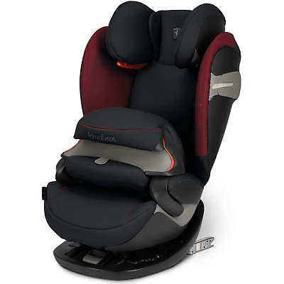 Cybex Pallas S-FIX Victory Black Scuderia Ferrari Group 1 2 3 Children Car Seat