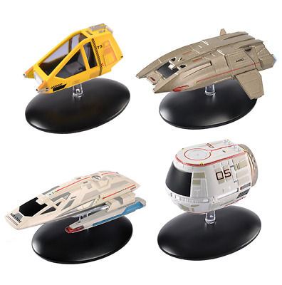 STAR TREK Official Starships Magazine SHUTTLECRAFT set #3 (4 pack) Eaglemoss NEW