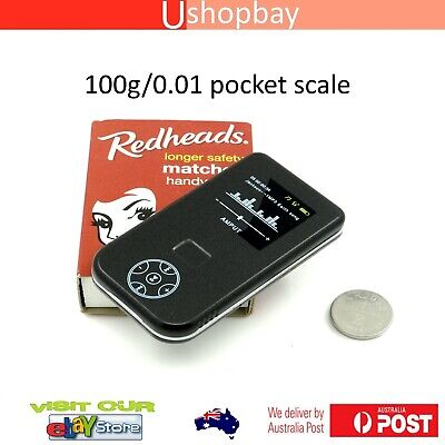 Mini Pocket Slide Open Digital Scale Matches box style ultrathin 200g/0.01g mb
