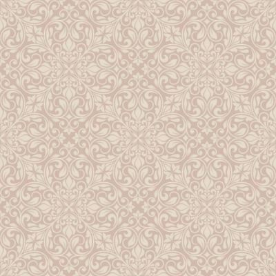 Sofia Damask Wallpaper Rose Gold - Debona 2455 Sparkle