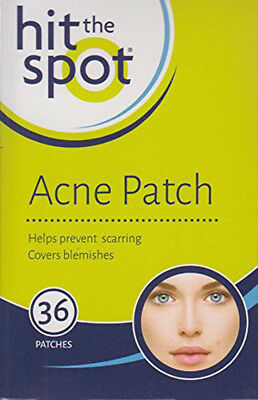Hit The Spot Acne Patch Cover Pack Of 36 Covers Facial Spots Blemishes Pimples