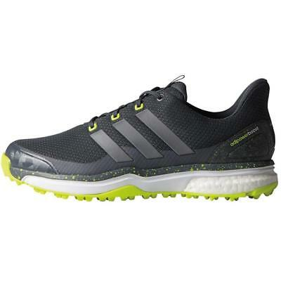 adidas Adipower Sport Boost 2 Spikeless Waterproof Golf Shoes (Onix/Yellow)