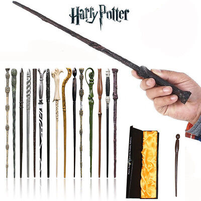 Magic Wand Boxed Harry Potter Hermione Dumbledore Voldemort Character Wand New