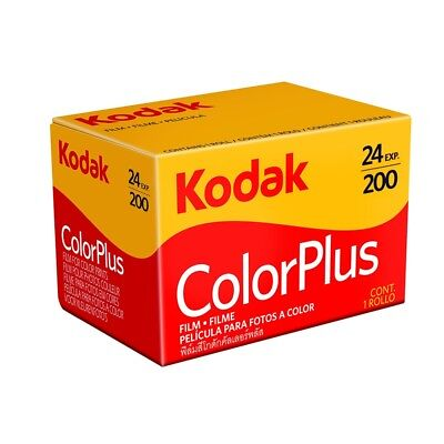 Kodak ColorPlus 200 ASA 35mm Colour Print Film 135-24 Exposure