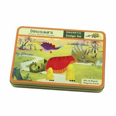 MudPuppy Dinosaurs Magnetic Build-Its by Mudpuppy Book The Cheap Fast Free Post