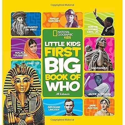 National Geographic Little Kids First Big Book of Who ( - Hardcover NEW National