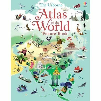 Atlas of the World Picture Book - Hardcover NEW Sam Lake (Autho 2015-09-01